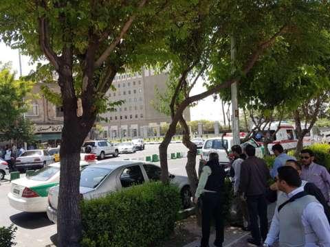 حمله به مجلس و حرم امام خمینی